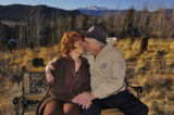 Virginia and Howard Morton (cq) on their property in Pine Junction Monday afternoon February 13,...