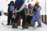 KIDS (l. to r.): Kyle Butler, 5, of Conifer; Michelle Moreno, 3, of Florida; Laura Peters, 4, of...