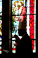 Bishop Bernard Fellay gives the sermon Sunday morning February 19, 2006 at the St. Isidore...