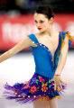 U.S. figure skater Sasha Cohen performs during the Short Program of the Women's Figure Skating...