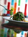 Dining Guide.  Cafe Star at 3201 E. Colfax Ave. in Denver.  The pistachio-crusted goat cheese...