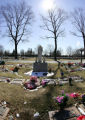 (NYT38) WESTBURY, N.Y. -- March 8, 2006 -- ABANDONED-BABY-CEMETERY -- The Island of Hope section...