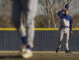 (RT) Baseball player Brett Sowers, 18, of Cherry Creek High School on the field at Cherry Creek...