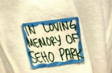 CENTENNIAL., Colo., Feb. 23, 2006) A sticker passed out to friends and family as the preliminary...