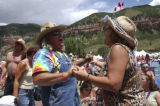 Telluride, CO. June 18th, 2004 Jerry Lumsford from California and Benay Stein form Durango, CO.,...
