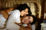 NYET683 - In this photo provided by Paramount Pictures, Camilla ( Salma Hayek)  hopes to rise...