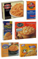 (NYT5) UNDATED -- Jan. 3, 2005 -- WINTER-COOK-COMPARE -- Various types of ready-made macaroni and...