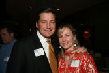 The Mask Project Buzz Party - Hospice of Metro Denver Board Chair, John Horan, and his wife...