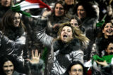 The Italian Olympic Team was the last set of athletes introduced to the racuous applause of the...