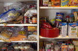 Spotlight food.  Part one. Spring cleaning at Marty Meitus's house. Melly Kinnard, an organizing...