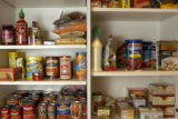 Spotlight food.  Part two. Spring cleaning at Marty Meitus's house. Melly Kinnard, an organizing...