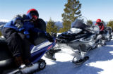 (WINTER PARK, Colo., Feb. 3, 2006) Rocky Mountain Adventure. McKenzie Shields, 9,  of Alabama rest...