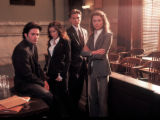 A scripted drama, Fox's The Jury, failed to attract viewers. From left, Billy Burke as John...