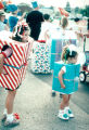 Lakewood on Parade girls dressed as presents