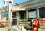Davie's Chuck Wagon Diner entrance