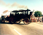 Lakewood on Parade hay thresher float