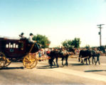 Lakewood on Parade stagecoach