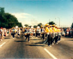 Lakewood on Parade marching band