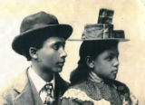 Charles L. Cousin's  and Alta Craig as teenagers