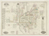 Thayer's map of Denver, Colorado : Located in Tp. No's 3 & 4 South Range No. 68 West Arapahoe...