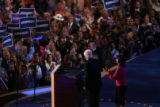 At the Pepsi Center during the Democratic National Convention on Monday, August 25, 2008 MATT...