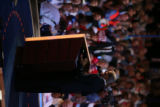 Sen. John Kerry at the Democratic National Convention at the Pepsi Center in Denver on Wednesday, Aug. 27, 2008