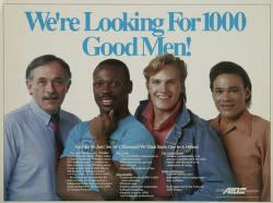 We're looking for 1000 good men!