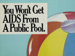 You won't get AIDS from a public pool
