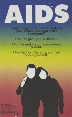 AIDS: How long does it take before you can trust someone?